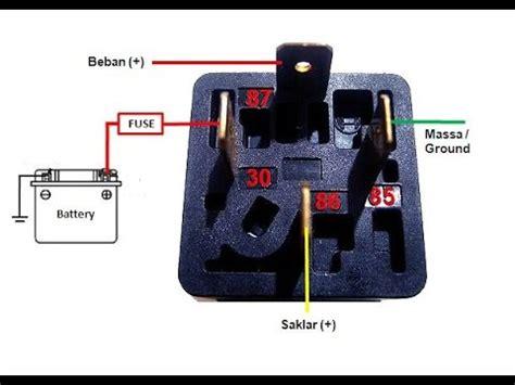 cara pasang relay cara pasang relay klakson keong rangkaian pemasangan how to apply hella horn youtube