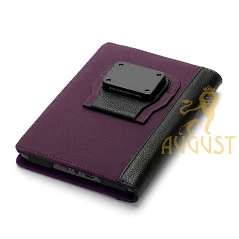 kindle touch cover with light purple suede cover with rechargeable led light for kindle