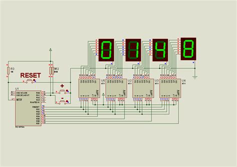 Counter Circuit With Picfa Picbasic Pro