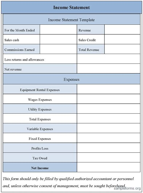 profit and loss template for self employed profit and loss statement template for self employed spreadsheets