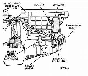 Blower Motor Relay Location  Heater Blower Runs Continuous