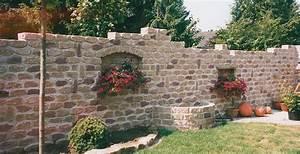Gartenmauern Aus Stein : garten mauern und gestalten ~ Michelbontemps.com Haus und Dekorationen