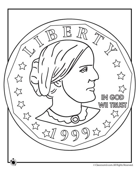 susan  anthony coloring pages woo jr kids activities