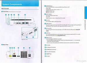 Wii U Instruction Manual Offers Detailed Diagrams Of