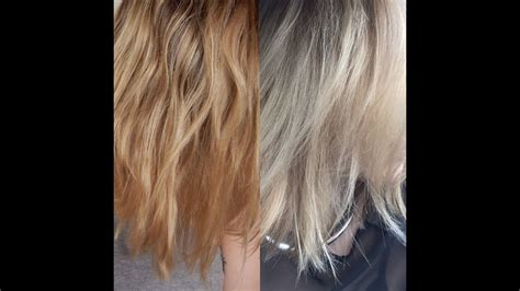 How To Tone Brassy Blonde Hair