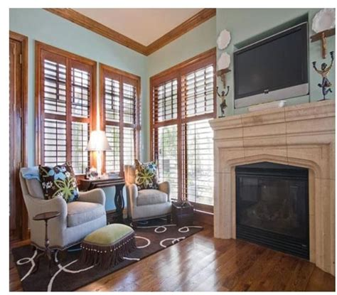 natural wood trim pale blue walls for the home paint