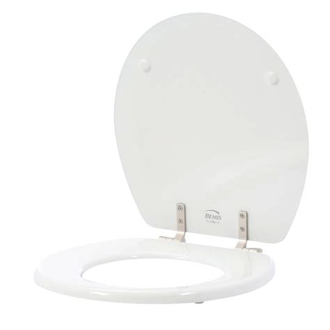 Bemis Statite Round Closed Front Toilet Seat In White