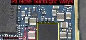 Xiaomi Redmi Note Cell Phone Screen Repair Light Problem