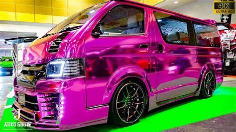 Nissan Serena 4k Wallpapers by 4k Feel Dynasty Toyota Hiace 200 Evo Modified ダイナスティ 200系