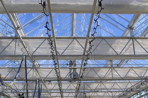 greenhouse shade curtain systems manufactured by
