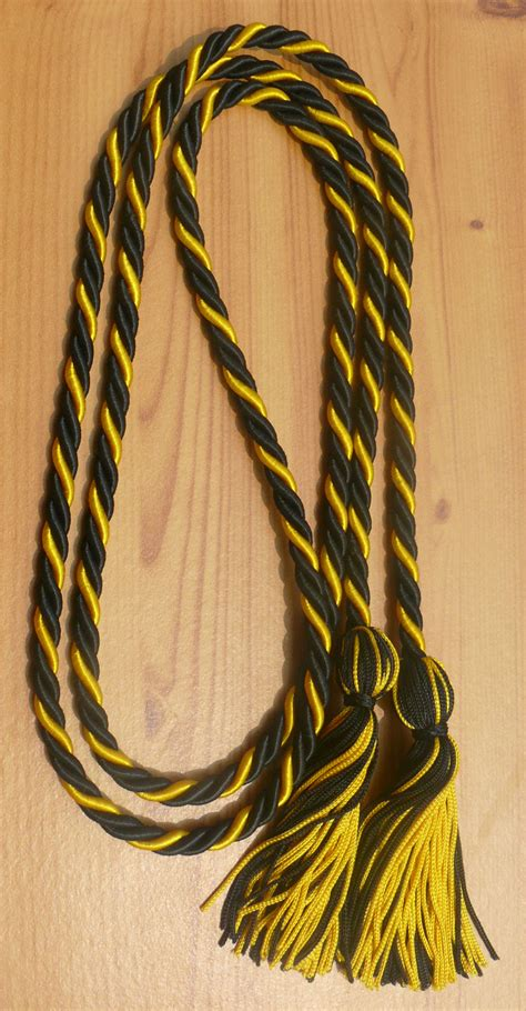 Black & Gold Intertwined Graduation Honor Cords. Free Job Application Template. William And Mary Graduate School. Work Order Template Excel. Raffle Ticket Template Word. Make A Scrapbook Online Free. Project Based Learning Template. Cocktail Menu Template Free. Banquet Seating Chart Template