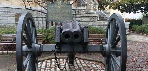 athens ga worlds  double barreled cannon