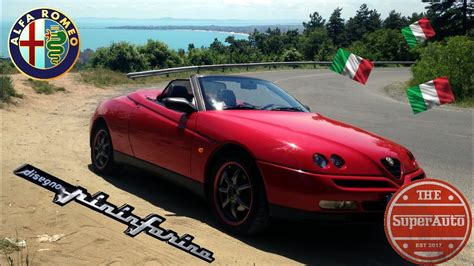alfa spider 916 alfa romeo gtv spider 916 1996 2004 review is the 2 0 spark a bad engine eng subs