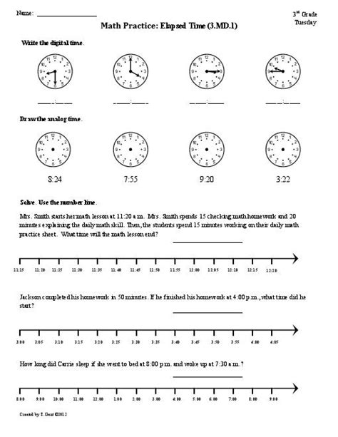 18 best images of 4th grade clock worksheets 4th grade