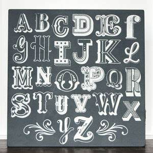 alphabet screen print With screen printing letters