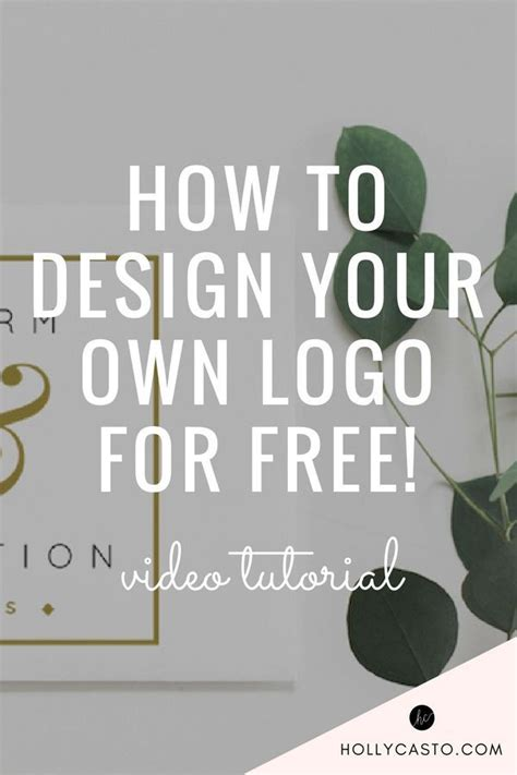 how to design your own logo how to design your own logo for free