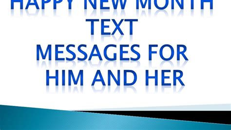 new month text happy new month text messages for him and