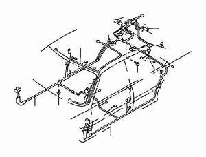 Toyota Rav4 Wire  Floor  No  2  Seat  Electrical  Wiring