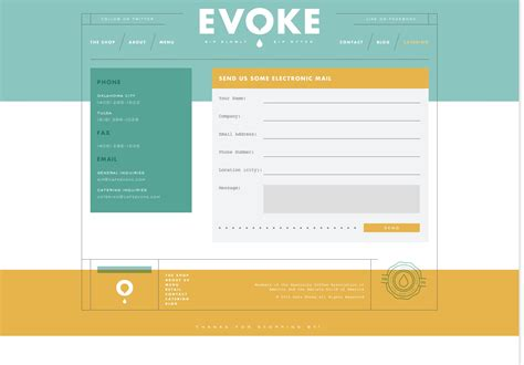 20 best designed contact pages idevie