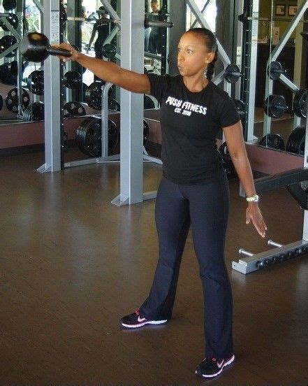 kettlebell swing position incorporated routine exercises fitness into ending