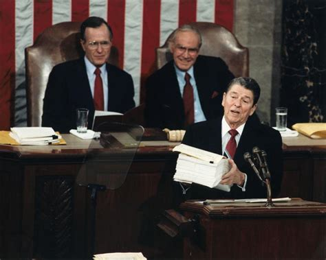ed o neill house address file president reagan gives the state of the union address