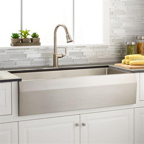 signature hardware kitchen sinks angled stainless steel kitchen signature hardware