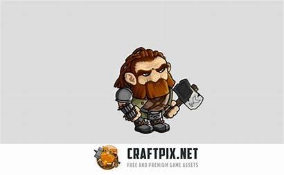 2d Character Gnome Sprite Fantasy Craftpix
