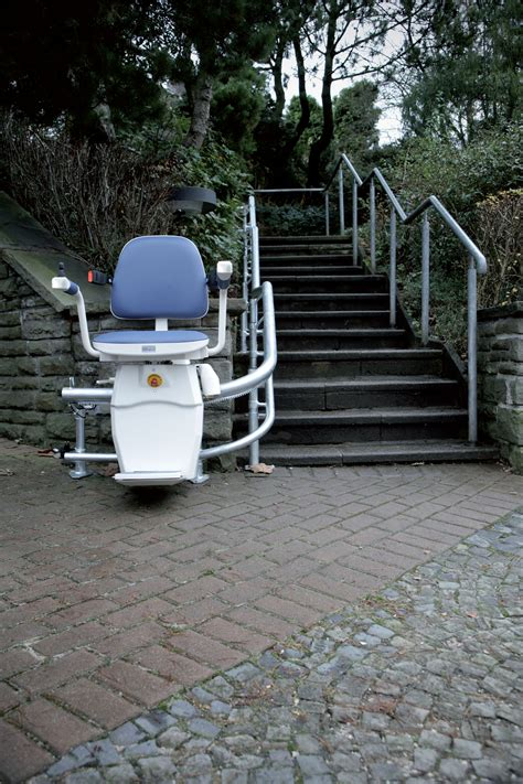 outdoor stair lifts curved or home elevators