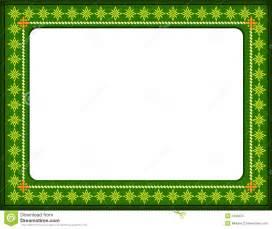 Green Certificate Border