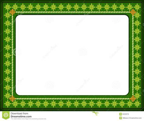 cadre de certificat image libre de droits image 6333376
