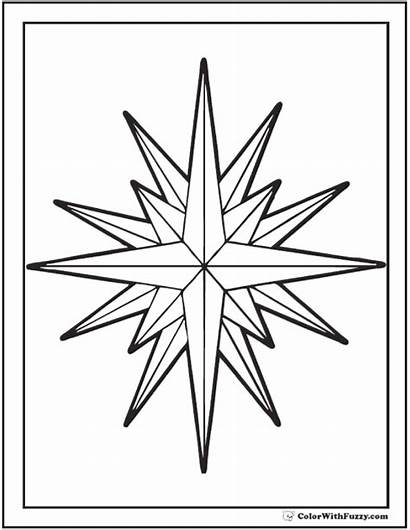Star Coloring Pages Nautical Printable Pdf Colorwithfuzzy