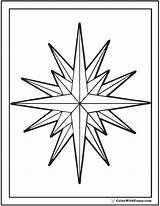 Star Coloring Pages Nautical Printable Pdf Colorwithfuzzy sketch template