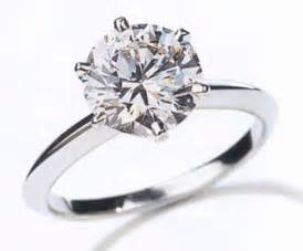 solitaire engagement rings with band two golden rings 1 carat ring