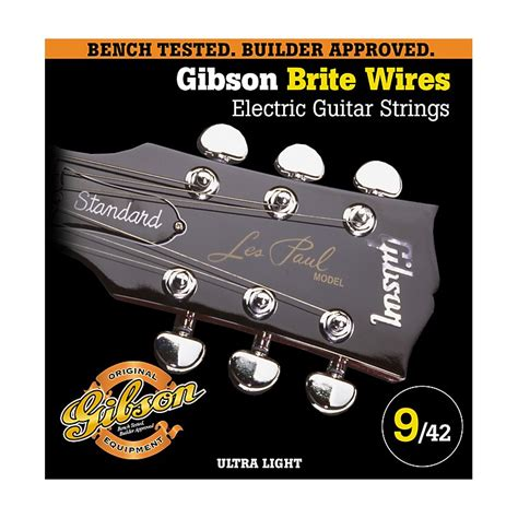 gibson g700ul ultra light brite wires electric guitar
