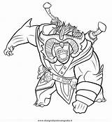 Trollhunters sketch template