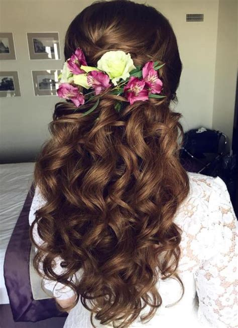 Half Updo Wedding Hairstyles by 40 Gorgeous Wedding Hairstyles For Hair