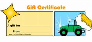 gift certificate template free download gift certificate With automotive gift certificate template