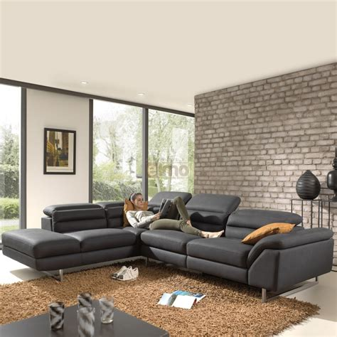 canape angle avec meridienne canap 233 angle canap 233 cuir relaxation pas cher