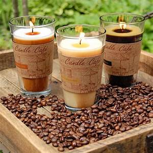 Lumabase Coffee Caf Collection Scented Candles in 11 oz ...