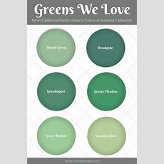 6 Historic Green Paint Colors We Love • Maison Mass
