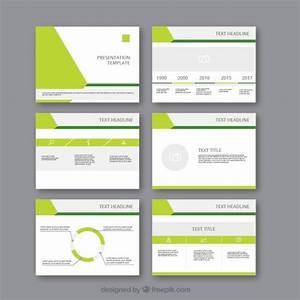 Modern Business Presentation Template Vector