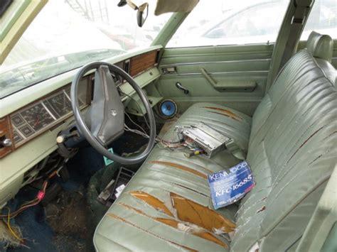 Junkyard Find: 1981 Dodge Aries Station Wagon - The Truth ...