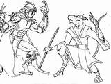 Shredder Coloring Pages Tmnt Splinter Vs Krang Theaven Deviantart Rocksteady Boys Donatello Face Coloringtop Template sketch template
