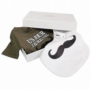 Cadeau Bébé Naissance : cadeau de naissance moustache presque parfait ~ Teatrodelosmanantiales.com Idées de Décoration