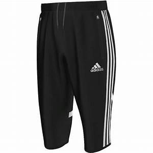 Adidas Mens CON14 Three Quarter PNT 3/4 Football Shorts Pants Bottoms   eBay