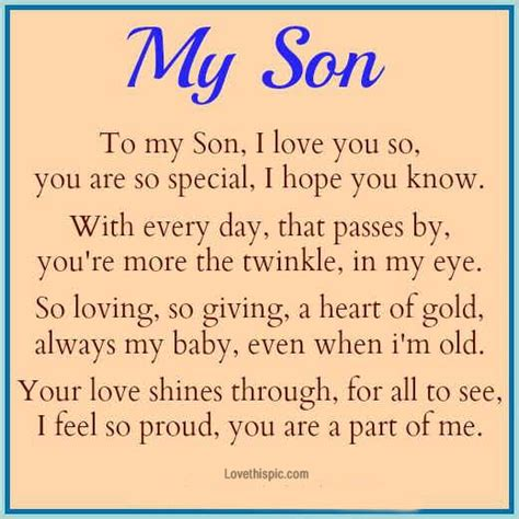 Proud Youre My Son Quotes