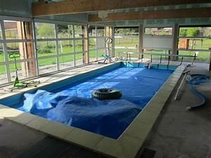 prix piscine couverte chauffee With prix piscine enterree couverte