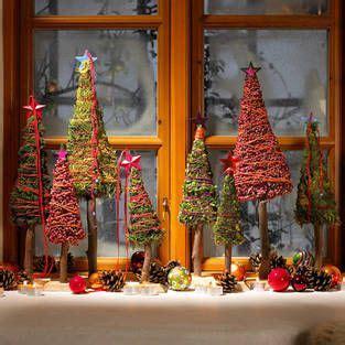 Weihnachtsdeko Für Die Fensterbank Kleiner Winterwald