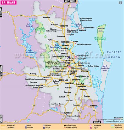 brisbane australia map kingjaap