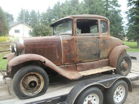 find   ford model  coupe stored  year barn find